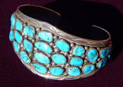 Multi Turquoise Stone Bracelet a