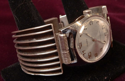 Navajo Silver Watch Band A