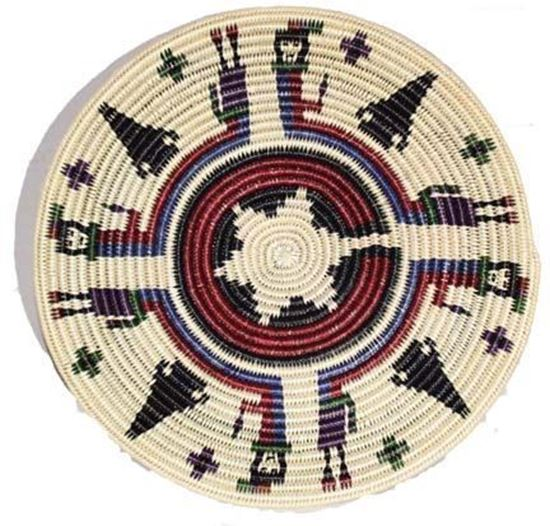 Picture of NAVAJO BASKET 8