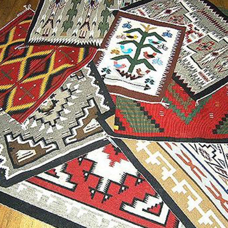 Picture for category Navajo Rugs & Weavings