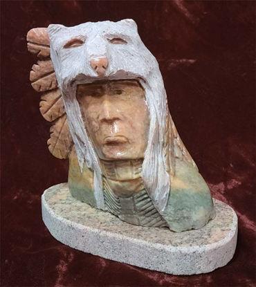 Picture of Navajo alabaster sculpture Jordan Toledo